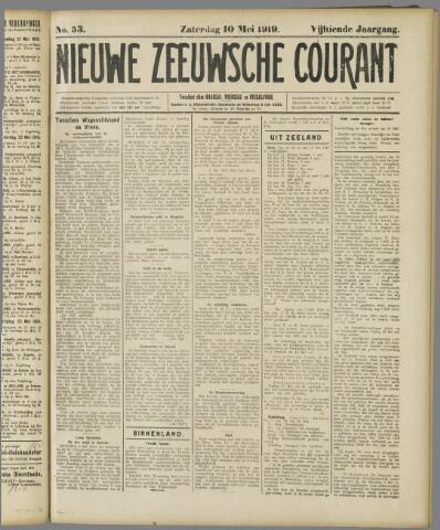 Nieuwe Zeeuwsche Courant 1919-05-10