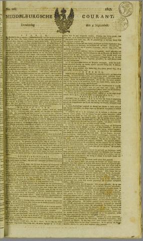 Middelburgsche Courant 1817-09-04
