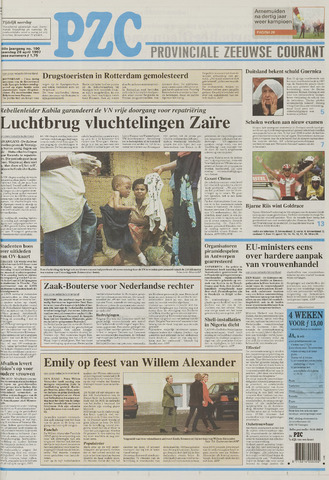 Provinciale Zeeuwse Courant 1997-04-28