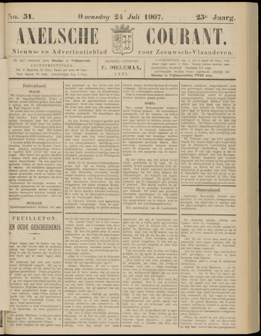 Axelsche Courant 1907-07-24