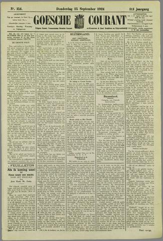 Goessche Courant 1924-09-25
