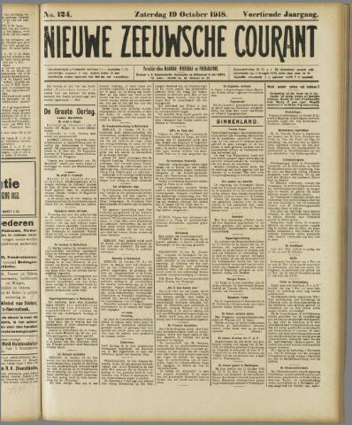 Nieuwe Zeeuwsche Courant 1918-10-19