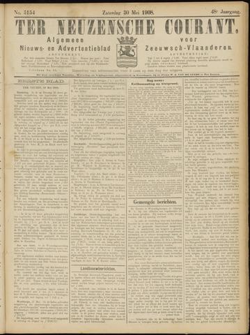 Ter Neuzensche Courant. Algemeen Nieuws- en Advertentieblad voor Zeeuwsch-Vlaanderen / Neuzensche Courant ... (idem) / (Algemeen) nieuws en advertentieblad voor Zeeuwsch-Vlaanderen 1908-05-30