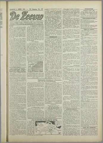 De Zeeuw. Christelijk-historisch nieuwsblad voor Zeeland 1943-04-06
