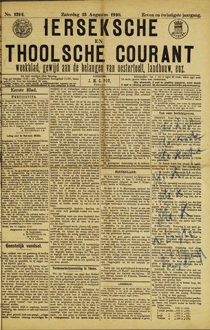 Ierseksche en Thoolsche Courant 1910-08-13