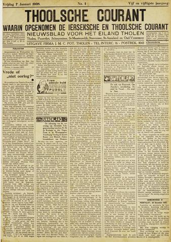 Ierseksche en Thoolsche Courant 1938