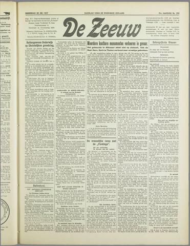 De Zeeuw. Christelijk-historisch nieuwsblad voor Zeeland 1937-07-29