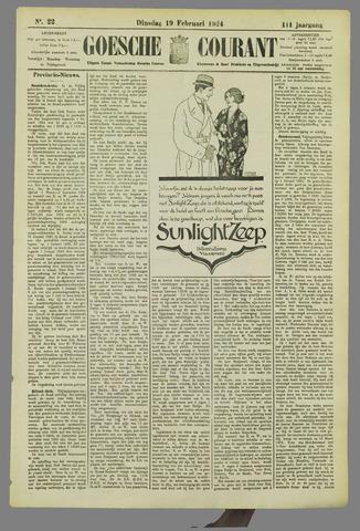 Goessche Courant 1924-02-19