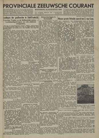 Provinciale Zeeuwse Courant 1944-08-16