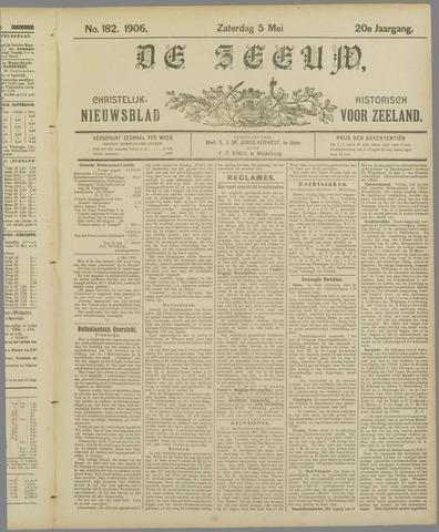 De Zeeuw. Christelijk-historisch nieuwsblad voor Zeeland 1906-05-05