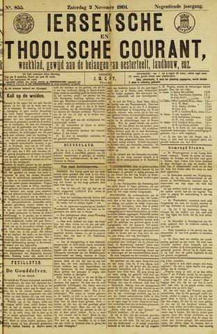 Ierseksche en Thoolsche Courant 1901-11-02