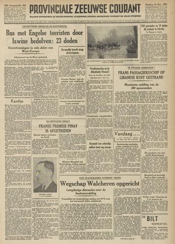 Provinciale Zeeuwse Courant 1952-12-23
