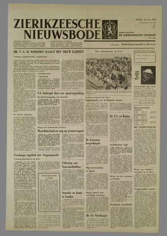 Zierikzeesche Nieuwsbode 1963-07-23