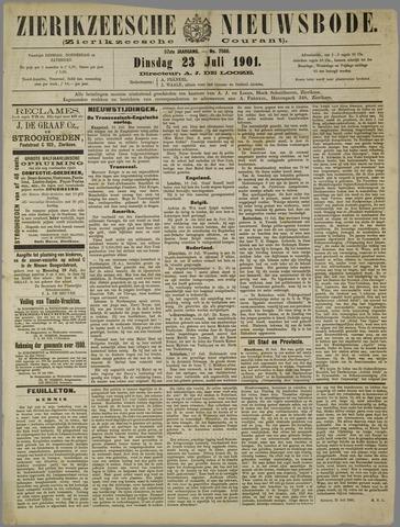 Zierikzeesche Nieuwsbode 1901-07-23