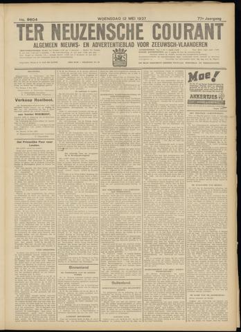 Ter Neuzensche Courant. Algemeen Nieuws- en Advertentieblad voor Zeeuwsch-Vlaanderen / Neuzensche Courant ... (idem) / (Algemeen) nieuws en advertentieblad voor Zeeuwsch-Vlaanderen 1937-05-12