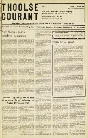 Ierseksche en Thoolsche Courant 1950-03-03