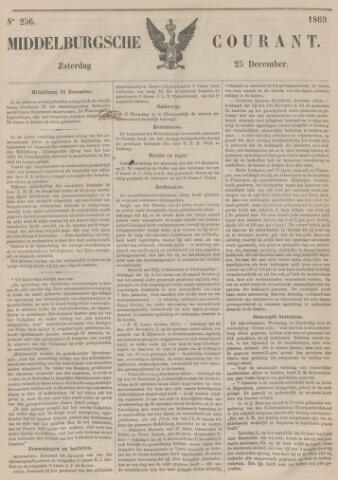 Middelburgsche Courant 1869-12-25
