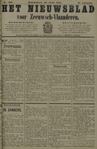 Nieuwsblad voor Zeeuwsch-Vlaanderen 1900-06-20