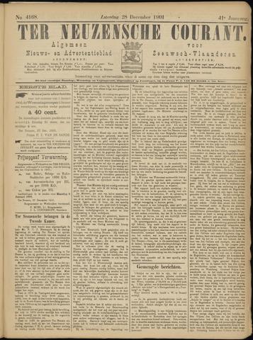 Ter Neuzensche Courant. Algemeen Nieuws- en Advertentieblad voor Zeeuwsch-Vlaanderen / Neuzensche Courant ... (idem) / (Algemeen) nieuws en advertentieblad voor Zeeuwsch-Vlaanderen 1901-12-28