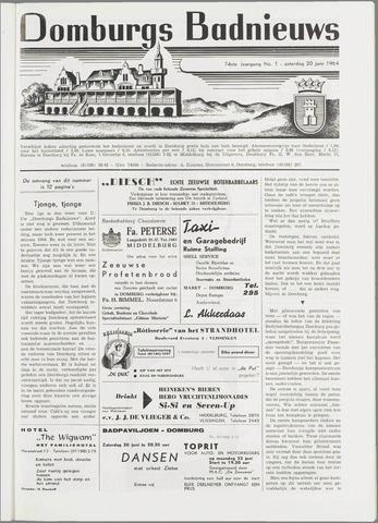 Domburgsch Badnieuws 1964