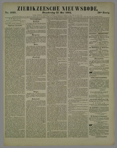 Zierikzeesche Nieuwsbode 1882-05-25