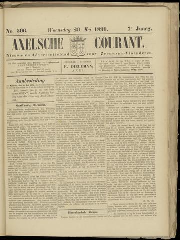Axelsche Courant 1891-05-20