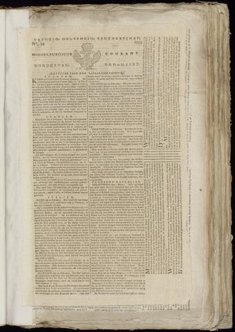 Middelburgsche Courant 1799-03-14