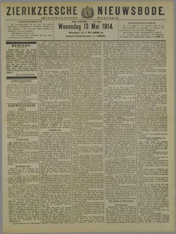 Zierikzeesche Nieuwsbode 1914-05-13