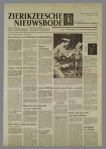 Zierikzeesche Nieuwsbode 1965-09-13