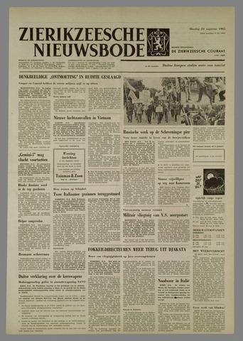 Zierikzeesche Nieuwsbode 1965-08-24