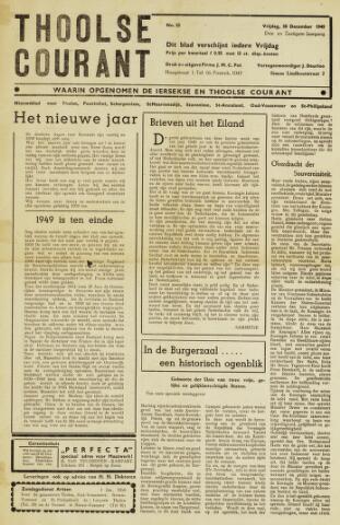 Ierseksche en Thoolsche Courant 1949-12-30