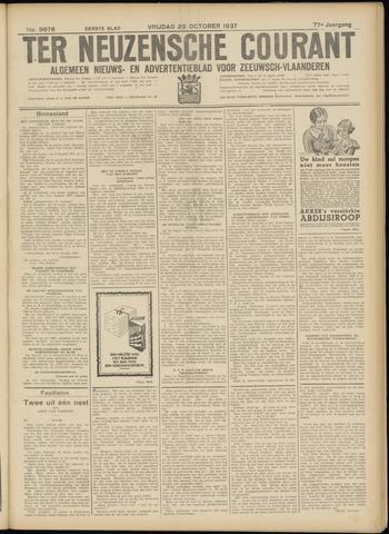 Ter Neuzensche Courant. Algemeen Nieuws- en Advertentieblad voor Zeeuwsch-Vlaanderen / Neuzensche Courant ... (idem) / (Algemeen) nieuws en advertentieblad voor Zeeuwsch-Vlaanderen 1937-10-29
