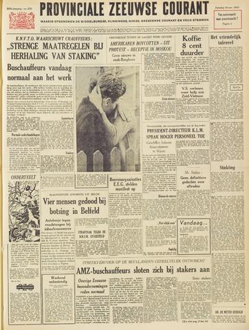 Provinciale Zeeuwse Courant 1963-11-16