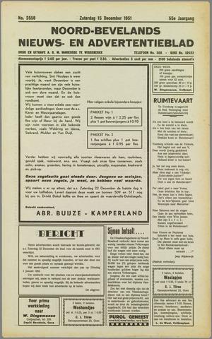 Noord-Bevelands Nieuws- en advertentieblad 1951-12-15