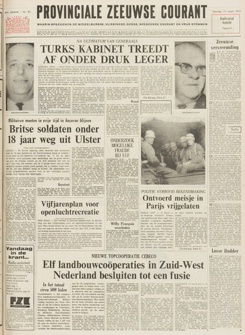 Provinciale Zeeuwse Courant 1971-03-13