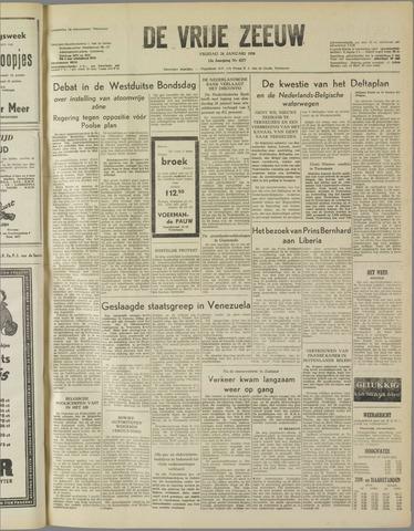 de Vrije Zeeuw 1958-01-24