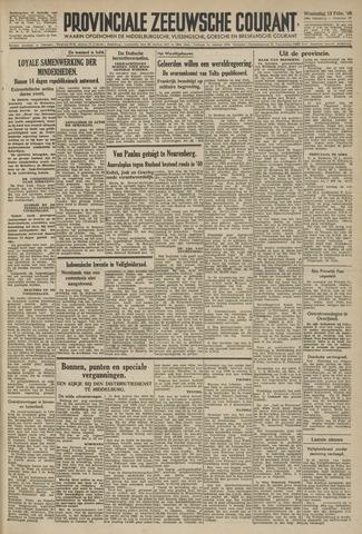 Provinciale Zeeuwse Courant 1946-02-13