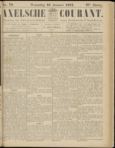 Axelsche Courant 1912-01-10