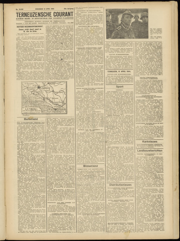 Ter Neuzensche Courant. Algemeen Nieuws- en Advertentieblad voor Zeeuwsch-Vlaanderen / Neuzensche Courant ... (idem) / (Algemeen) nieuws en advertentieblad voor Zeeuwsch-Vlaanderen 1944-04-12
