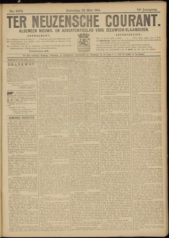 Ter Neuzensche Courant. Algemeen Nieuws- en Advertentieblad voor Zeeuwsch-Vlaanderen / Neuzensche Courant ... (idem) / (Algemeen) nieuws en advertentieblad voor Zeeuwsch-Vlaanderen 1914-05-23