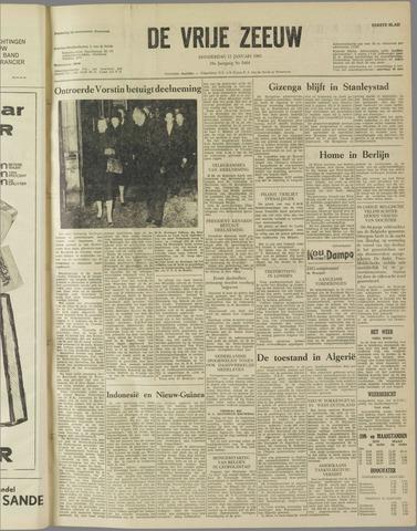de Vrije Zeeuw 1962-01-11