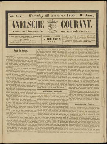 Axelsche Courant 1890-11-26