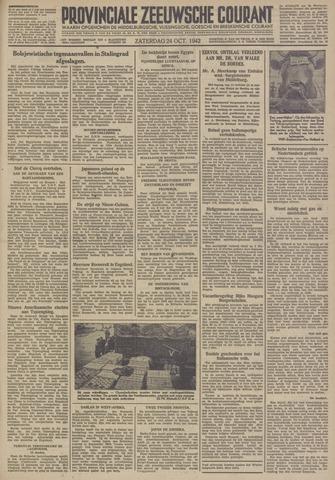 Provinciale Zeeuwse Courant 1942-10-24