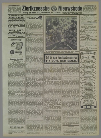 Zierikzeesche Nieuwsbode 1932-03-25