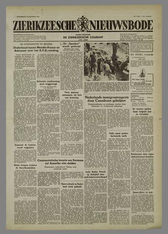 Zierikzeesche Nieuwsbode 1954-08-19
