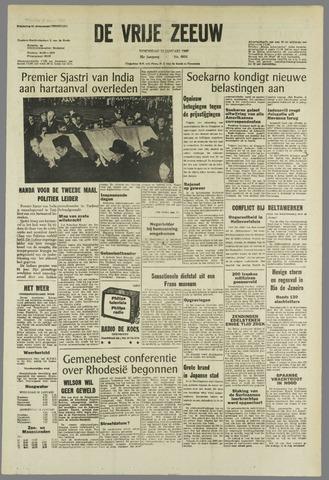 de Vrije Zeeuw 1966-01-12
