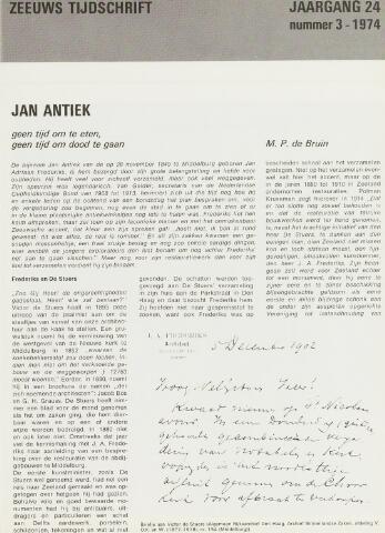 Zeeuws Tijdschrift 1974-05-01