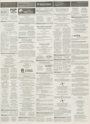 sollicitatiebrief reisadviseuse Provinciale Zeeuwse Courant | 31 augustus 2002 | pagina 53  sollicitatiebrief reisadviseuse
