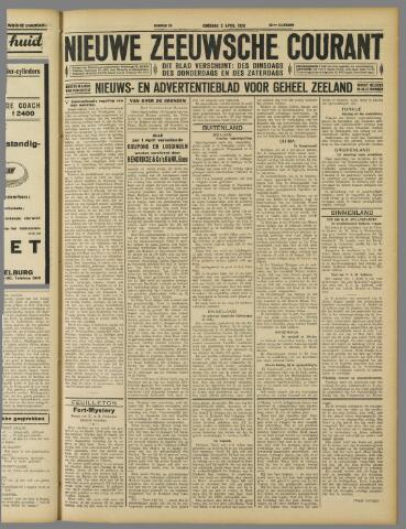 Nieuwe Zeeuwsche Courant 1929-04-02