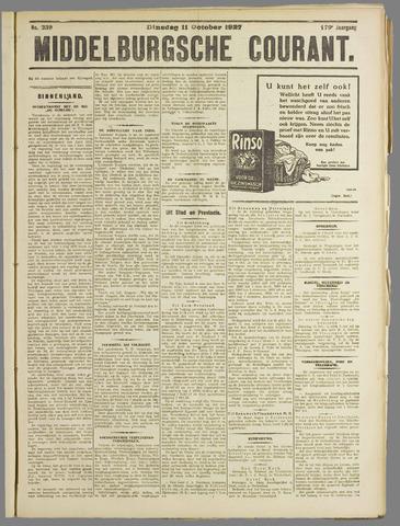 Middelburgsche Courant 1927-10-11
